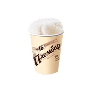 複古香草紙杯冰淇淋