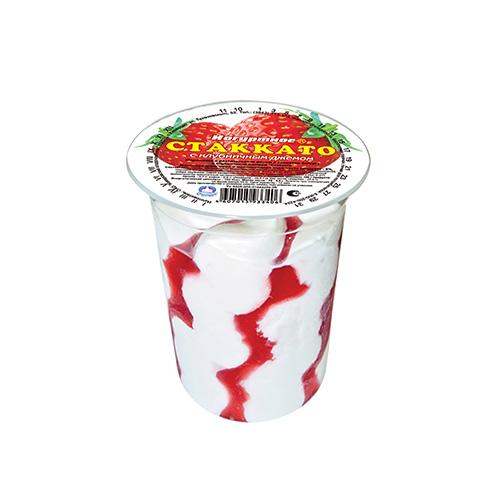 """""""斯塔卡托""""草莓冰淇淋"""