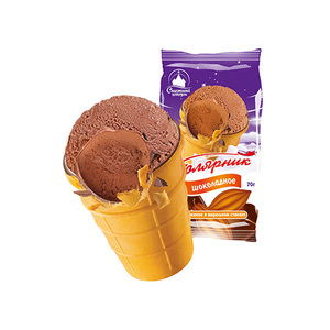 """杯裝""""極地""""巧克力味冰淇淋"""